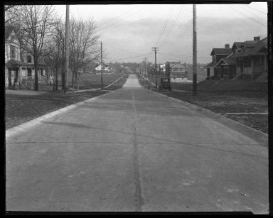 Street Improvement Photographs -- Box 37, Folder 19 (Hildreth Avenue) -- negative, 1927