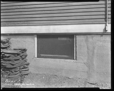 Street Improvement Photographs -- Box 37, Folder 22 (Hillside Avenue) -- negative, 1927-09-26