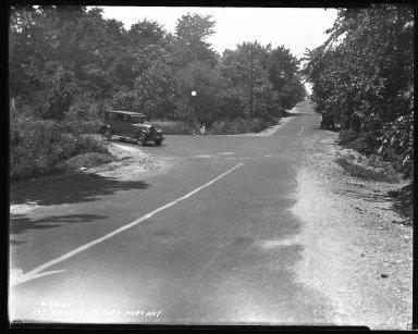 Street Improvement Photographs -- Box 37, Folder 27 (Hopkins Street) -- negative, 1926-06-28