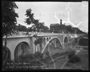 Street Improvement Photographs -- Box 37, Folder 31 (Ida Street Bridge) -- negative, 1931-09-14