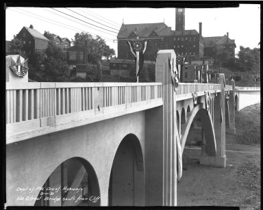 Street Improvement Photographs -- Box 37, Folder 31 (Ida Street Bridge) -- negative, 1931-09-11
