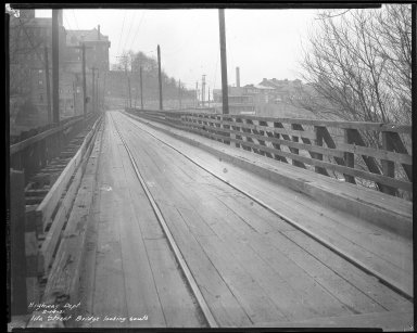 Street Improvement Photographs -- Box 37, Folder 32 (Ida Street Bridge) -- negative, 1931-02-14