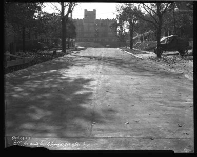 Street Improvement Photographs -- Box 37, Folder 33 (Iliff Street) -- negative, 1927-10-28