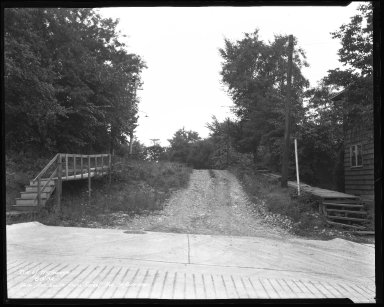 Street Improvement Photographs -- Box 37, Folder 38 (Isis Avenue) -- negative, 1932-08-03