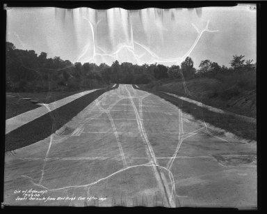 Street Improvement Photographs -- Box 37, Folder 43 (Jenks Avenue) -- negative, 1938-09-28