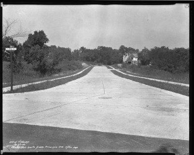 Street Improvement Photographs -- Box 37, Folder 43 (Jenks Avenue) -- negative, 1938-09-23
