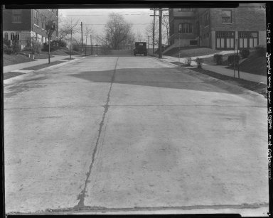 Street Improvement Photographs -- Box 37, Folder 45 (Joselin Avenue) -- negative, 1929-01-21