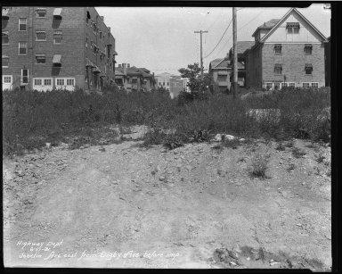 Street Improvement Photographs -- Box 37, Folder 45 (Joselin Avenue) -- negative, 1931-06-17