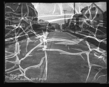 Street Improvement Photographs -- Box 37, Folder 45 (Joselin Avenue) -- negative, 1931-08-20
