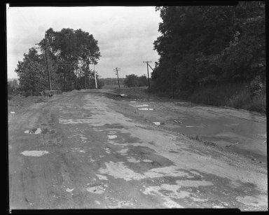Street Improvement Photographs -- Box 37, Folder 47 (Kellogg Avenue) -- negative, 1926