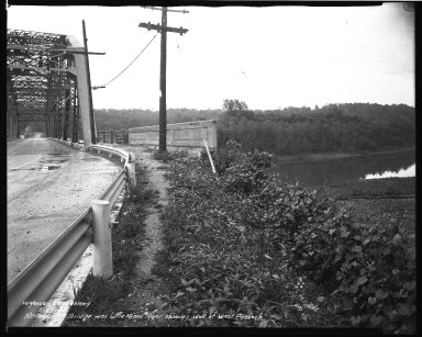 Street Improvement Photographs -- Box 37, Folder 58 (Kellogg Avenue Bridge) -- negative, 1940-05-27