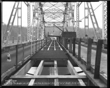 Street Improvement Photographs -- Box 37, Folder 58 (Kellogg Avenue Bridge) -- negative, 1939-02-20
