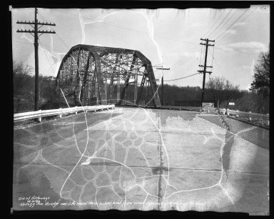 Street Improvement Photographs -- Box 37, Folder 59 (Kellogg Avenue Bridge) -- negative, 1939-04-03