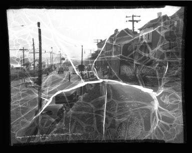 Street Improvement Photographs -- Box 37, Folder 60 (Kemper Lane) -- negative, 1936-09-23