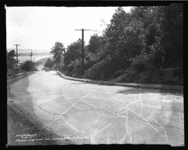 Street Improvement Photographs -- Box 37, Folder 60 (Kemper Lane) -- negative, 1937-05-25