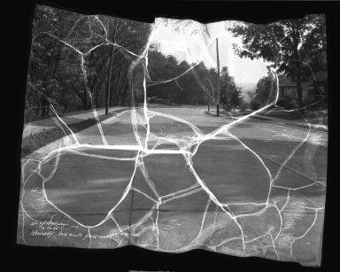 Street Improvement Photographs -- Box 38, Folder 01 (Kennedy Avenue) -- negative, 1934-09-27