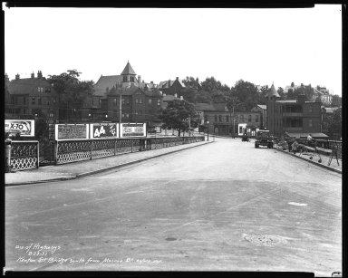 Street Improvement Photographs -- Box 38, Folder 05 (Kenton Street) -- negative, 1932-08-23