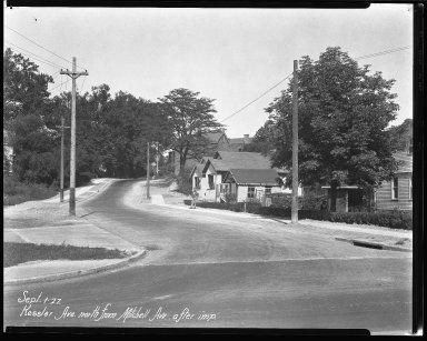 Street Improvement Photographs -- Box 38, Folder 06 (Kessler Avenue) -- negative, 1927-09-01