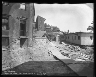 Street Improvement Photographs -- Box 38, Folder 07 (Kilgour Street) -- negative, 1937
