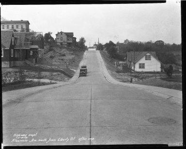Street Improvement Photographs -- Box 38, Folder 10 (Kleemeier Avenue) -- negative, 1931-05-05