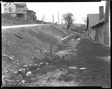 Street Improvement Photographs -- Box 38, Folder 10 (Kleemeier Avenue) -- negative, 1931-03-13