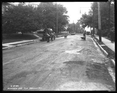 Street Improvement Photographs -- Box 38, Folder 11 (Kleinview Avenue) -- negative, 1926-06-25