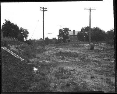 Street Improvement Photographs -- Box 38, Folder 12 (Kling Avenue) -- negative, 1938