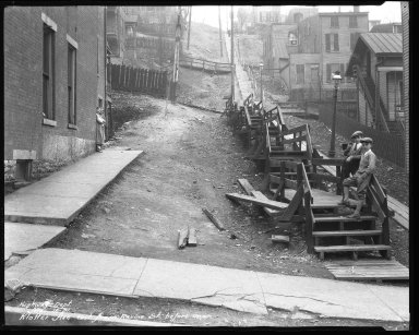 Street Improvement Photographs -- Box 38, Folder 14 (Klotter Avenue) -- negative, 1931-03-16