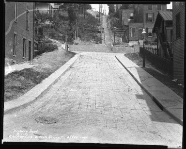 Street Improvement Photographs -- Box 38, Folder 14 (Klotter Avenue) -- negative, 1931-08-07