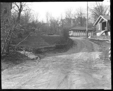 Street Improvement Photographs -- Box 38, Folder 20 (Knox Street) -- negative, 1935-11-20