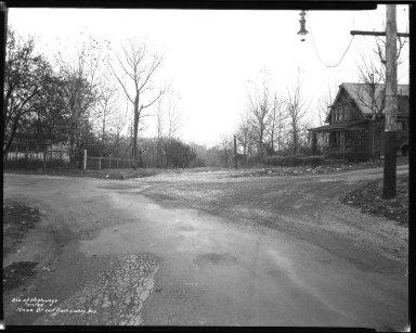 Street Improvement Photographs -- Box 38, Folder 20 (Knox Street) -- negative, 1935-11-01