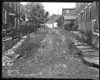 Street Improvement Photographs -- Box 38, Folder 22 (Kottman Street) -- negative, 1929-10-16