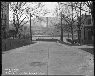 Street Improvement Photographs -- Box 38, Folder 22 (Kottman Street) -- negative, 1931-12-23
