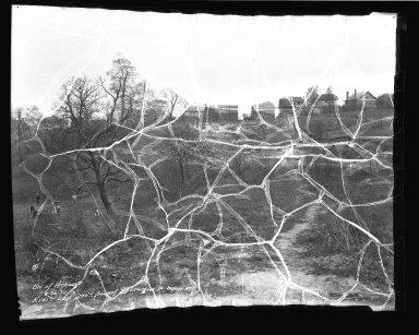 Street Improvement Photographs -- Box 38, Folder 23 (Kreis Lane) -- negative, 1934-04-26