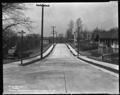 Street Improvement Photographs -- Box 38, Folder 24 (Kremer Avenue) -- negative, 1932-04-05