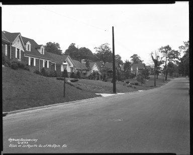 Street Improvement Photographs -- Box 38, Folder 25 (Lafayette Avenue) -- negative, 1943-06-02