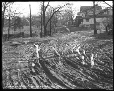 Street Improvement Photographs -- Box 38, Folder 37 (Lantana Avenue) -- negative, 1929-03-06