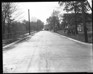 Street Improvement Photographs -- Box 38, Folder 37 (Lantana Avenue) -- negative, 1929-10-26