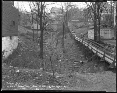 Street Improvement Photographs -- Box 38, Folder 39 (La Salle Street) -- negative, 1931-01-29