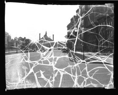 Street Improvement Photographs -- Box 38, Folder 43 (Laurel Parkway) -- negative, 1936-04-10