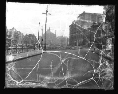 Street Improvement Photographs -- Box 38, Folder 45 (Laurel Parkway) -- negative, 1934-11-07