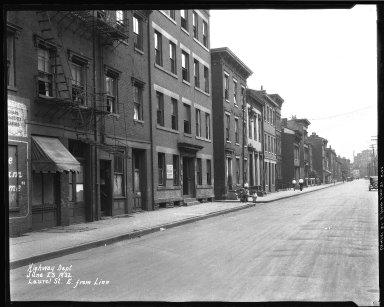 Street Improvement Photographs -- Box 38, Folder 45 (Laurel Parkway) -- negative, 1932-06-23