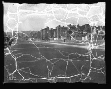 Street Improvement Photographs -- Box 38, Folder 45 (Laurel Street) -- negative, 1934-11-07