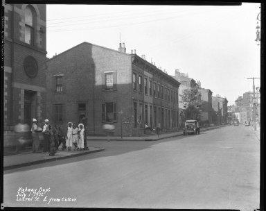 Street Improvement Photographs -- Box 38, Folder 46 (Laurel Parkway) -- negative, 1932-07-01