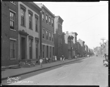 Street Improvement Photographs -- Box 38, Folder 47 (Laurel Parkway) -- negative, 1932-07-01