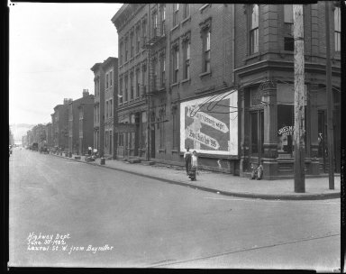 Street Improvement Photographs -- Box 38, Folder 47 (Laurel Parkway) -- negative, 1932-06-30