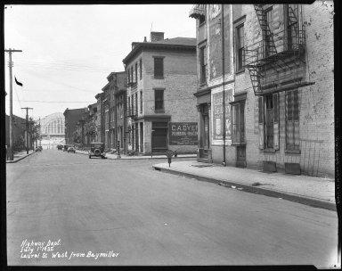 Street Improvement Photographs -- Box 38, Folder 47 (Laurel Parkway) -- negative, 1932-07-01