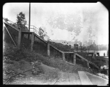 Street Improvement Photographs -- Box 39, Folder 03 (Liberty Street) -- negative, 1929