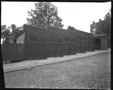Street Improvement Photographs -- Box 39, Folder 04 (Liberty Street) -- negative, 1929