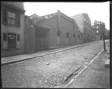 Street Improvement Photographs -- Box 39, Folder 04 (Liberty Street) -- negative, 1929